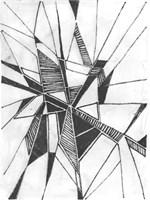 Symbol Imprint II Framed Print