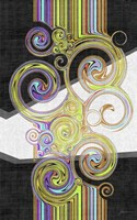 Twirl IV Framed Print