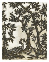 Teahouse Chinoiserie I Framed Print