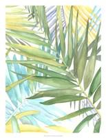 Tropical Pattern II Framed Print