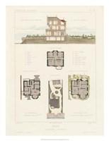 Habitations Modernes V Fine Art Print