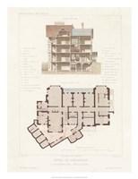 Habitations Modernes VI Fine Art Print