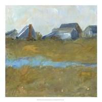 Nantucket Wind II Framed Print