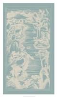 Chinese Bird's-eye View in Spa I Framed Print