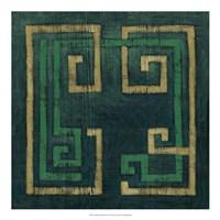 Emerald Diversion II Framed Print