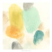 River Stones I Framed Print