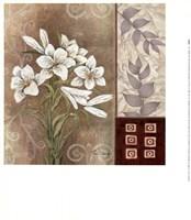Fleur Blanc II Fine Art Print