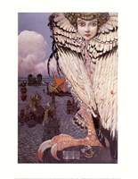 The Satiated Siren Fine Art Print