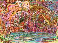 Sunrise In Osoyoos Fine Art Print