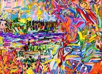 A Bouquet For Kitsilano Fine Art Print