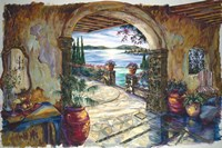 Secret Terrace Fine Art Print