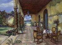 Terrazzo Hiacia Del Mar Fine Art Print