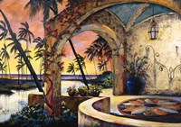 Island Sunset Fine Art Print