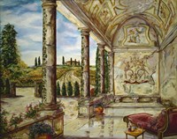Villa Angelica Fine Art Print