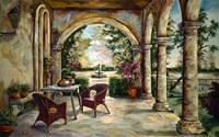 Oasis In The Garden Fine Art Print