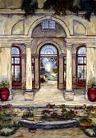 Place De Jardin Fine Art Print