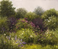 Garden in the Mist Fine Art Print