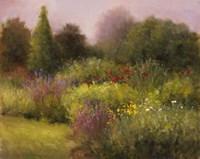In The Garden, Manchester Fine Art Print