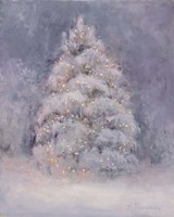 Snow Winter Tree Fine Art Print
