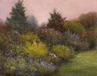 Edge of the Garden Fine Art Print