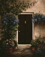 Burgundy Door Fine Art Print