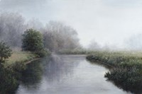 Foggy River Fine Art Print