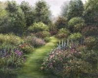 Secluded Garden Fine Art Print