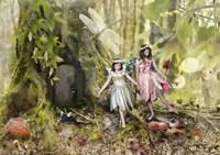 Frolicking Fairies Fine Art Print