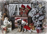 Awaiting Santa Fine Art Print