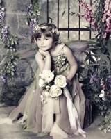 Fairy in Garden Fine Art Print
