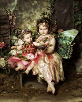 Victorian Fairies Fine Art Print