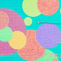 Bubblegum Wall Fine Art Print