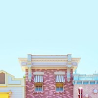 Candy Shops Fine Art Print