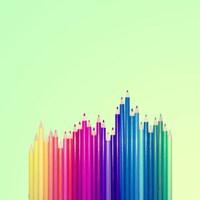 Candy-Colored Pencils Fine Art Print