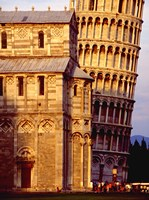 Tower of Pisa Fine Art Print