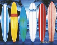 Surfboards Fine Art Print
