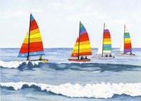 Sail Colors Fine Art Print