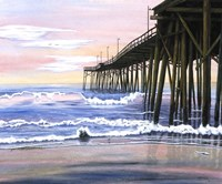 Early Morning Pier Fine Art Print