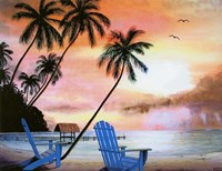 Tropical Morning Fine Art Print