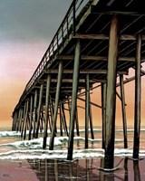 Vertical Pier Fine Art Print