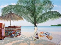 Tiki Bar Fine Art Print