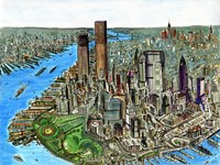 Manhattan 72 Fine Art Print