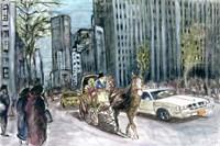 New York 5th Ave Fine Art Print