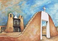 Taos Pueblo Fine Art Print