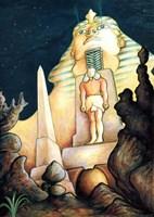 Magic Sphinx Fine Art Print