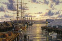 Harbor Sunset Fine Art Print