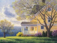 Home By The Sea Fine Art Print