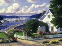 Roche Harbor Fine Art Print