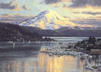 Gig Harbor 1 Fine Art Print