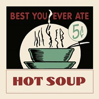 Hot Soup Fine Art Print